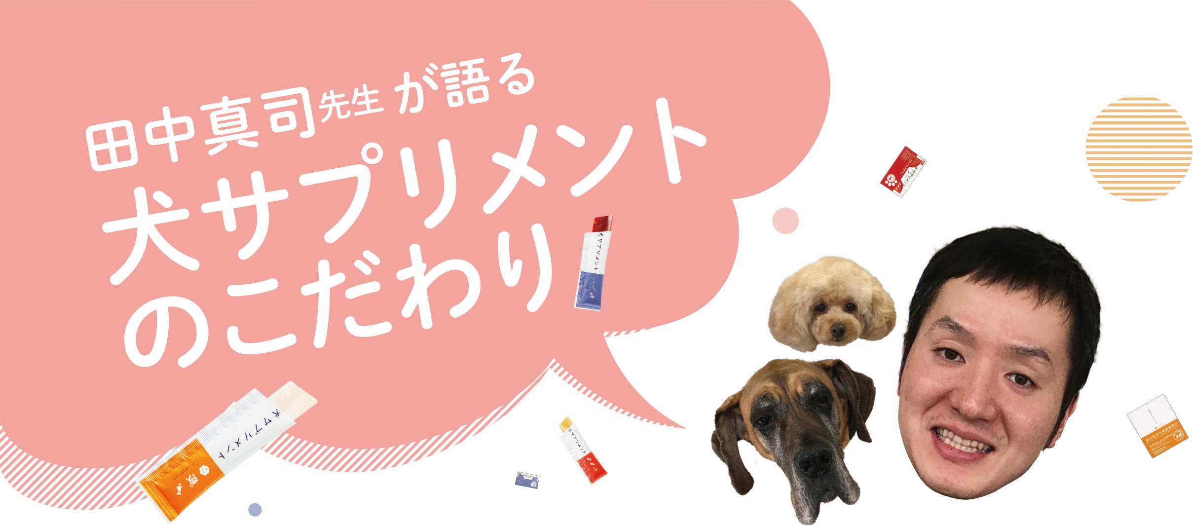 犬サプリメントのこだわりタイトル画像