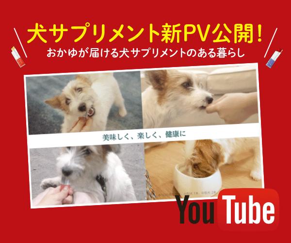 犬サプリメントPV